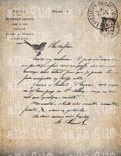 handwritten letter via Nolda Delpeut Papel Vintage, Vintage Paper, Vintage Lettering, Hand Lettering, Old Letters, Beautiful Handwriting, Handwritten Letters, Journal Pages, Journals