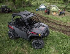 10 Best Sporstman's All-Terrain Vehicles: Polaris RZR 800 XC Edition Matte Black #hunting #camping #atv #gearpatrol