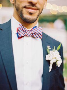 Love this bowtie: http://www.stylemepretty.com/2015/08/06/dreamy-napa-valley-wedding-part-ii/ | Photography: Jessica Burke - http://www.jessicaburke.com/