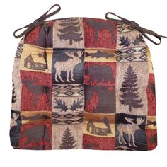 Cabin On Pinterest Dining Chair Cushions Chair Pads And Lodge Style