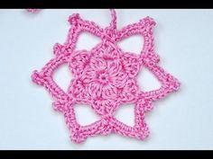"""Advent Calendar * December 15 * Crochet Star """"Adelheid"""""""