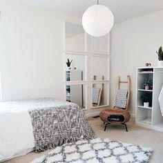 Ikea Mirror, Diy Mirror, Mirrors, Mirror Ideas, Ikea Nissedal, Ikea Hack, Rental Makeover, Loft Room, Modern Farmhouse