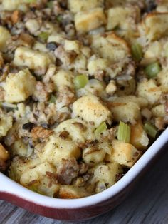 Classic Stuffing Recipe | Recipe Girl