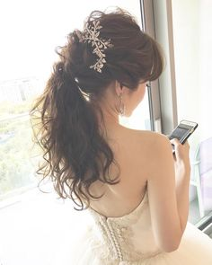 InstagramよりYukaさん♡ リクエストはおしゃポニー** ご依頼ありがとうございました・*:.。..☆ *  #hawaiiwedding #hawaiihairmake #hairmake #wedding #wedinghairmake #ハワイウェディング #ハワイヘアメイク #ヘアメイク #ヘアアレンジ #ヘアセット #プレ花嫁 #卒花嫁 #ハワイ前撮り #ハワイ後撮り #ウェディングフォト #ウエディングヘア#ブライダル #ブライダルヘアメイク #ブライダルヘア #ハワイフォトツアー #おしゃれ花嫁 #ヴェラウォン #ヴェラウォンマリアナ #verawangbride #verawang #verawangmariana