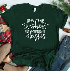 New Years Gift New Years Shirt New Years Eve Shirt New Year 2020 Holiday Gift Idea Cute Gift for Her Holiday Shirts Winter Shirt - Holiday Shirts - Ideas of Holiday Shirts - New Years Eve Shirt, New Years Shirts, New Years Outfit, New Years Eve Outfits, Diy New Years Party, Halloween Pregnancy Shirt, Cute Gifts For Her, Holiday Outfits, Holiday Clothes