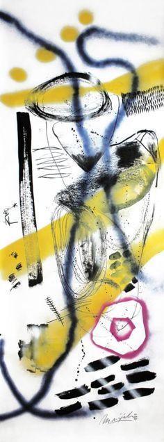 """Saatchi Art Artist Marijah Bac Cam; Drawing, """"Les Heures Catalanes 1"""" #art"""