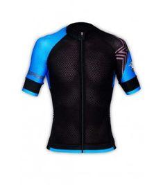 Maillot vélo GVT Pro Light Bleu et Noir. Grethel Rodríguez · Camisetas  ciclismo 085c3f30e389d