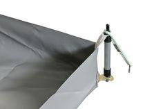 Wasserschutzplane / Zeltboden mit Stehrändern