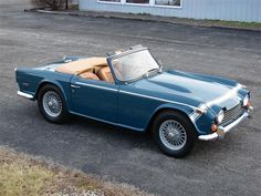 1968 Triumph TR 250 Maintenance/restoration of old/vintage vehicles: the material for new cogs/casters/gears/pads could be cast polyamide which I (Cast polyamide) can produce. My contact: tatjana.alic@windowslive.com