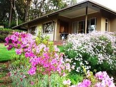 Featuring a lush garden boasting a variety of vegetation and views of the Magoebaskloof Mountains, Kuhestan Farm Cottages is situated on an Romantic Weekend Getaways, Farm Cottage, Lush Garden, Holiday Destinations, Homeland, Cottages, South Africa, Places, African