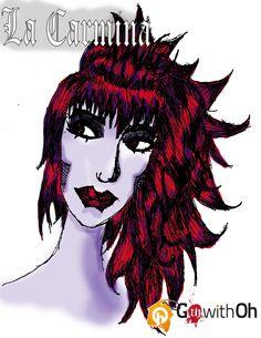 La Carmina Goth with Oh Tshirt entry by R-L-A-George.deviantart.com