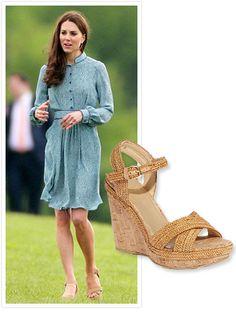 "#KateMiddleton gave ""RepliKates"" a new springtime shoe to covet: #StuartWeitzman's braided ""Minx"" wedge sandals. http://news.instyle.com/2012/05/14/kate-middleton-stuart-weitzman-nude-wedges/"