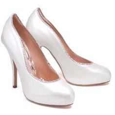 www.arunaseth.com Beatrice 120mm Heel in Pearlised Leather with Swarovski