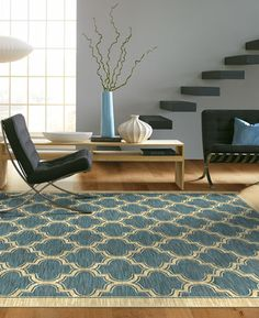 Ocean Hues - Milena Rug Collection World of Rugs Gallery