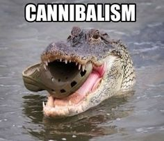Cannibalism.