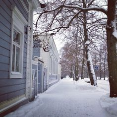 Helsinki is the largest city in Finland, but still you can find some nooks that make it look like a small town. #Helsinki