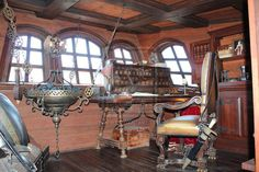 1800's ship captain's quarters - Google Search