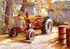 Title: The Tractor Art Card only Price: $7.95