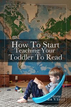 awesome list on how to start teaching your toddler to read