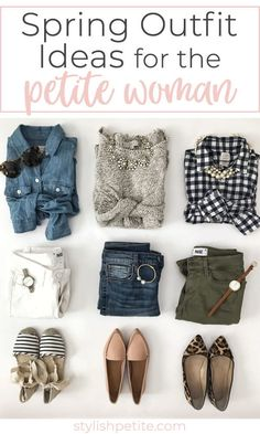 Outfit Inspiration + Weekend Sales Spring outfit ideas for petite women! 2019 fashion advice and tips!Spring outfit ideas for petite women! 2019 fashion advice and tips! Fashion Mode, Petite Fashion, Fashion Trends, Fashion Ideas, Fashion 2018, Curvy Fashion, Fashion Bloggers, Fashion Photo, Fashion Online