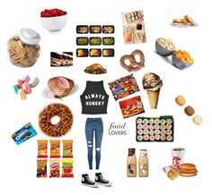 Always Hungry  by exo-kay on Polyvore featuring polyvore and art