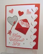 Stampin' Up! Valentine's Day Card Kit - Sealed With Love - Set of 4 Cards