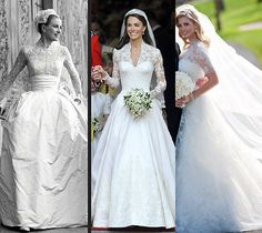 The classics! My favorite wedding gowns ever! I want to design my own wedding dress!