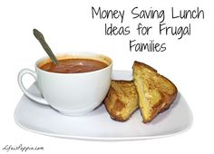 #Money #Saving #Lunch Ideas for #Frugal Families