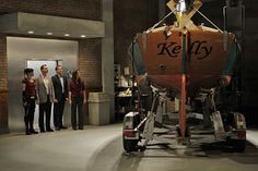 """NCIS Season 7 Episode 6 - """"Outlaws and In-Laws"""" ~ How did Gibbs get the boat out of the basement?"""
