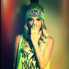 I seriously love her <3 Chanel west coast