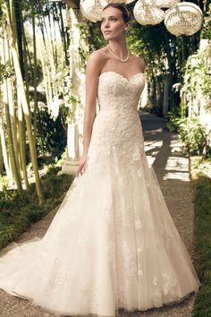 LOVE the color, cut, and fabric. Gorgeous.   Bride Beautiful  Style 2168 by Casablanca Bridal