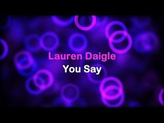 """At last, a new Lauren Daigle song ! This is a lyric video of Lauren Daigle singing """"You Say"""" that I made for my church. Jazz Guitar, Music Guitar, Contemporary Christian Music, Zakk Wylde, Lauren Daigle, Music Mix, Eric Clapton, Christian Life"""