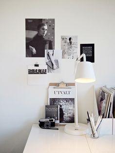 Idées déco : 10 bureaux minimalistes en noir et blanc