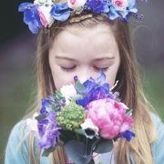 Scottish Flower Girl