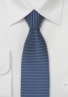 Krawatte blau/silber
