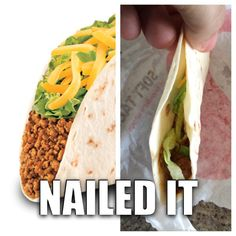 Taco Bell: nailed it!