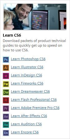Learn Adobe CS6! Download Free eBooks (1,022 Pages of Tutorials) We use Adobe Creative Suite 6 Design and Web Premium!