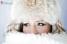 eFashionista Snow Bunny photoshoot! #photoshoot #fashion #beauty #snow