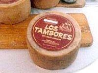 Los tambores - Queso curado de oveja de Samper de Calanda