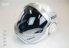Police motorcycle helmet re design