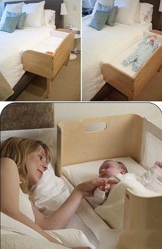 El bebé puede verla un poco, un buen calentamiento diseño bien pensado bien ...