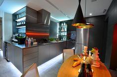 Mostra Casa & Cia 2013 - Cozinha de Estar bancada e bar