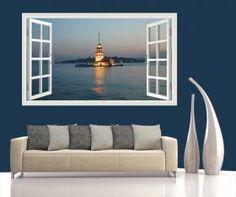 Pencereden Kız Kulesi150x90