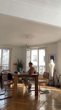 Home Interior Apartment .Home Interior Apartment Interior Exterior, Interior Design, Interior Paint, Interior Ideas, House Ideas, Dream Apartment, Aesthetic Rooms, Sky Aesthetic, Flower Aesthetic