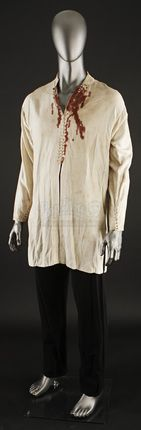 Ahmed Ibn Fahdlans (Antonio Banderas) Bloody Shirt and Pants | Prop Store - Ultimate Movie Collectables