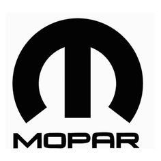 Mopar Die Cut Vinyl Decal PV1371