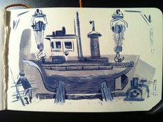 Ye Crooked Legge - Artwork of Matthew Cruickshank