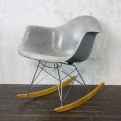 Ordinaire Eames Herman Miller RAR Rocking Chair In Grey