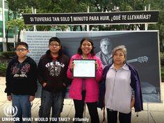Yo llevaría a mi familia.   - Ana from Mexico   - Visit 1family: http://www.unhcr.org/1family