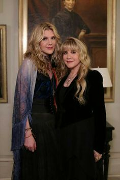 Stevie Nicks and Misty Day (Lily Rabe) - American Horror Story: Coven American Horror Story Seasons, American Horror Story Coven, Misty Day, Stevie Nicks Fleetwood Mac, Vogue, Film Serie, Celebs, Celebrities, Horror Stories